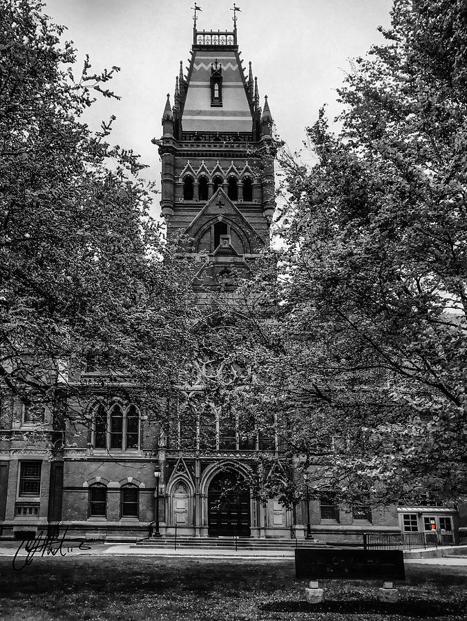 Harvard Memorial Hall by Chris Montcalmo