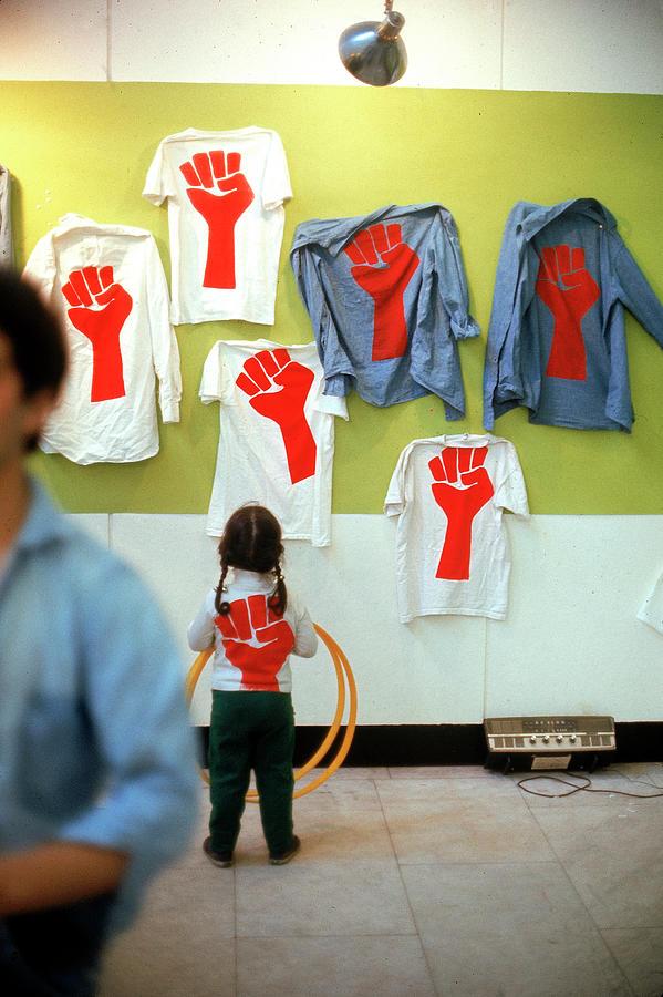Harvard Protest T-shirts Photograph by Leonard Mccombe
