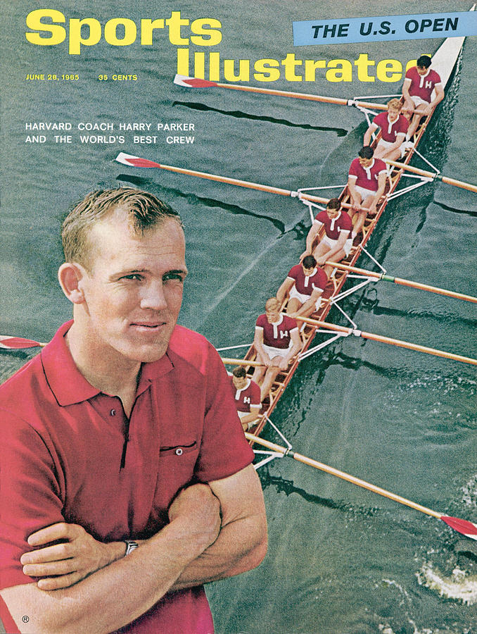 Harvard University Crew Coach Harry Parker Sports Illustrated Cover Photograph by Sports Illustrated