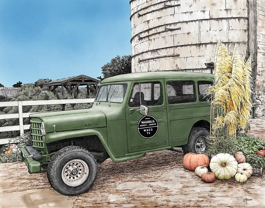 Harvest at Magnolia by Rick Adleman