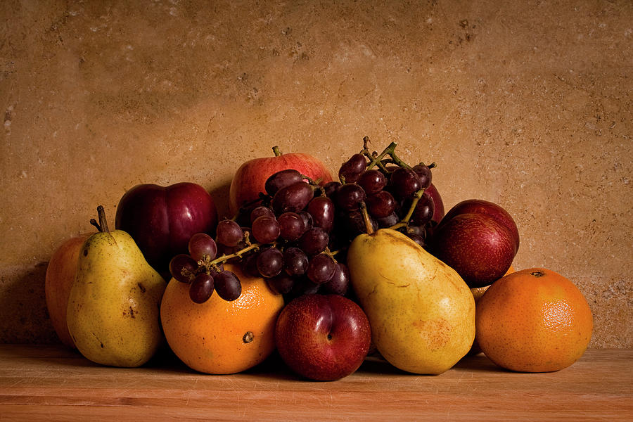 Harvest Of Fruits Photograph