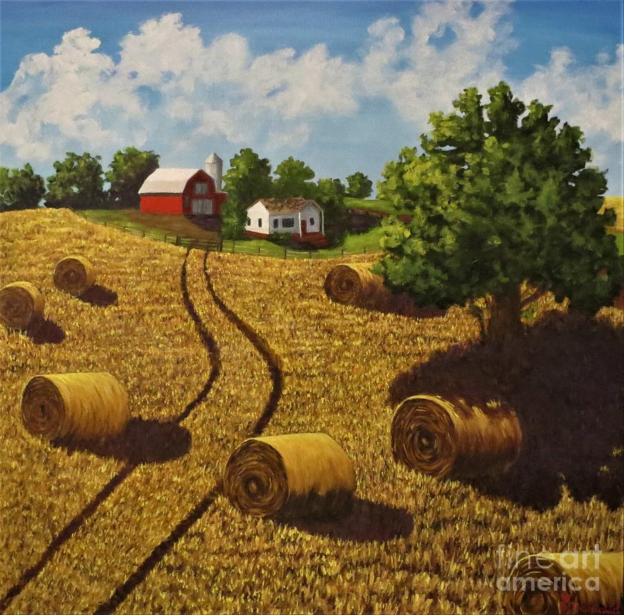 Harvest Time by Beverly Theriault