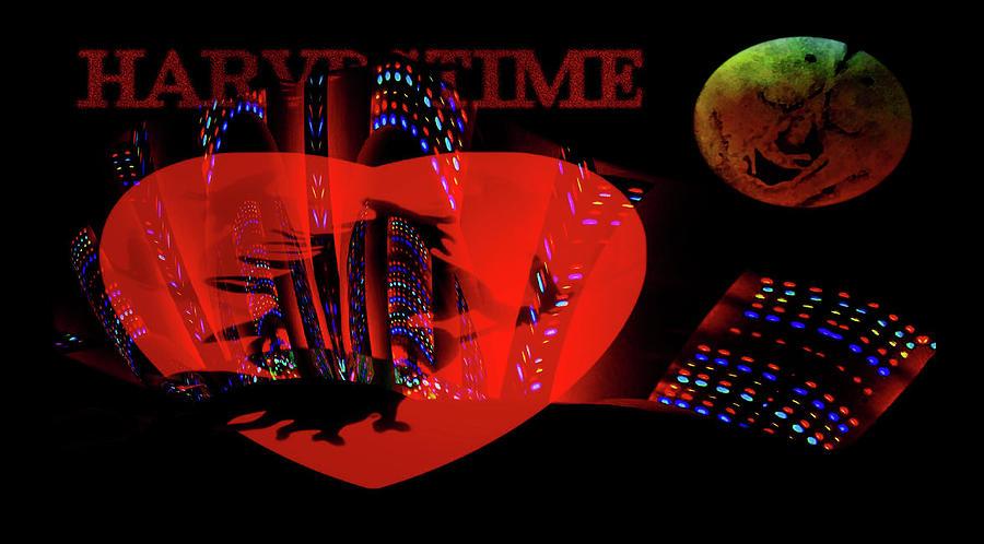 Harvestime In The Big City Digital Art