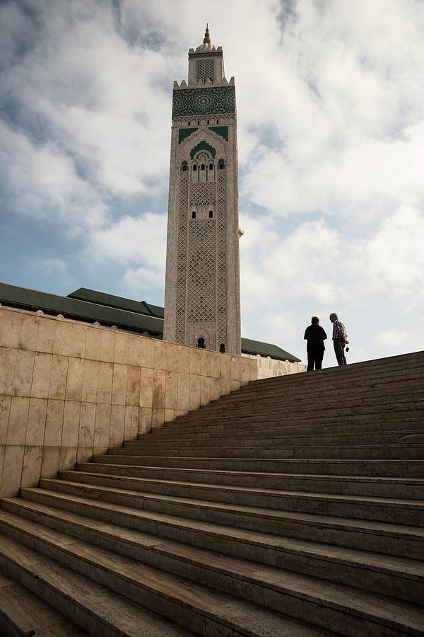 Hassan II mosque  by Yuri San