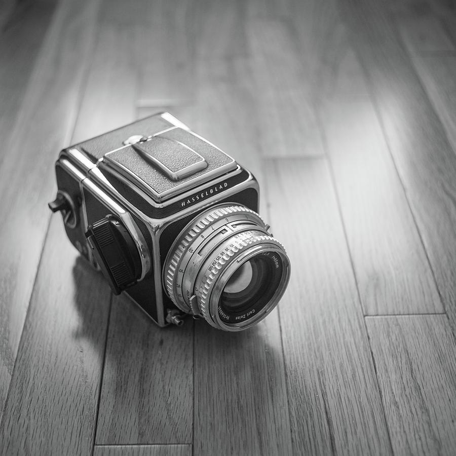 Hasselblad On The Floor Photograph