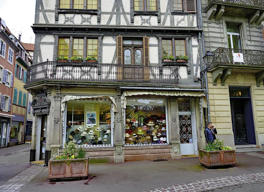 online retailer da93d 2af2d Hat Shop In Colmar. France