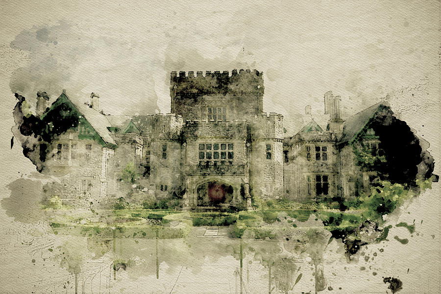 Hatley Castle 3 by Marilyn Wilson