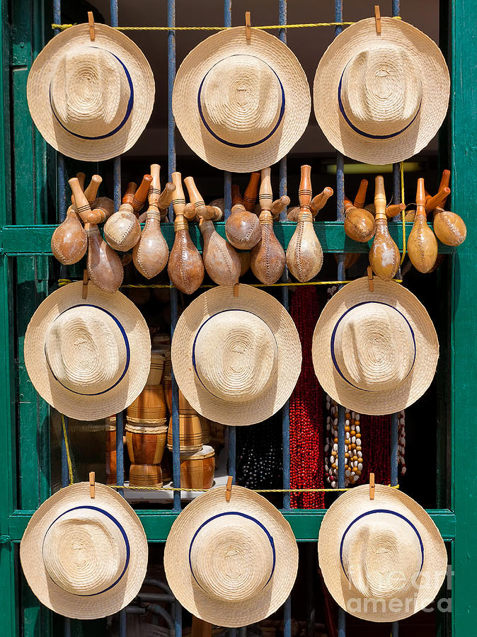 Gift Photograph - Hats, Musical Instruments,religious by Kamira