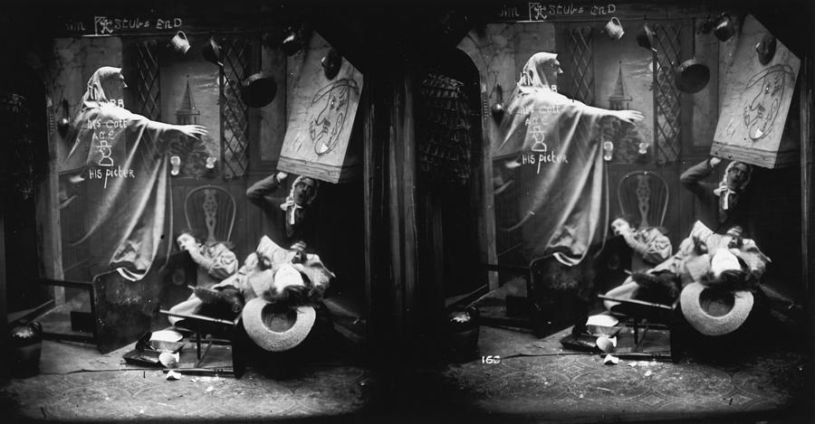 Haunted House Photograph by London Stereoscopic Company