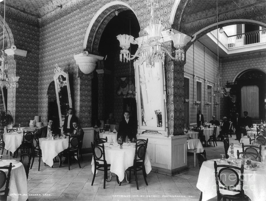 Havana Cafe, c1904 by Granger