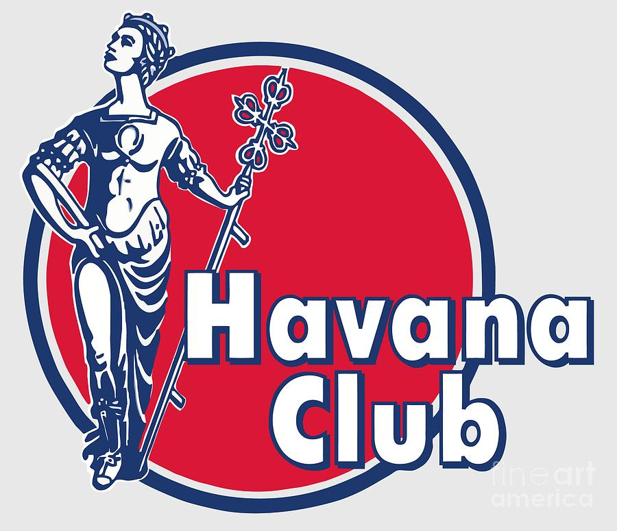 Drinks Digital Art - Havana Club by Studio Poco Los Angeles