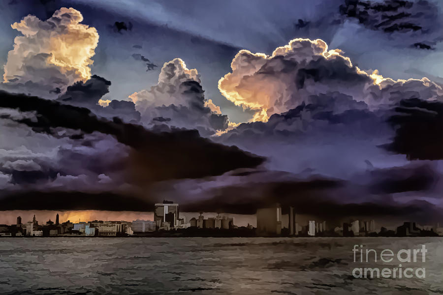 Havana Sunset by Stefan H Unger