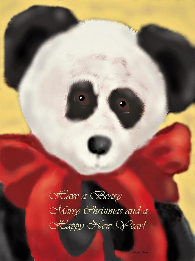 Have a Beary Merry Christmas by Angela Davies