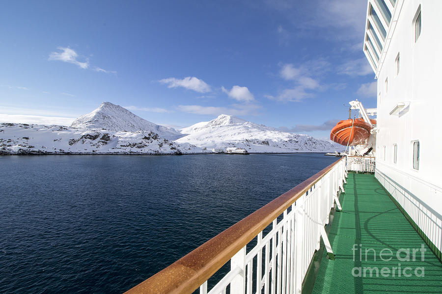 Forest Photograph - Havoysund From A Ship  Is The by Ana Del Castillo