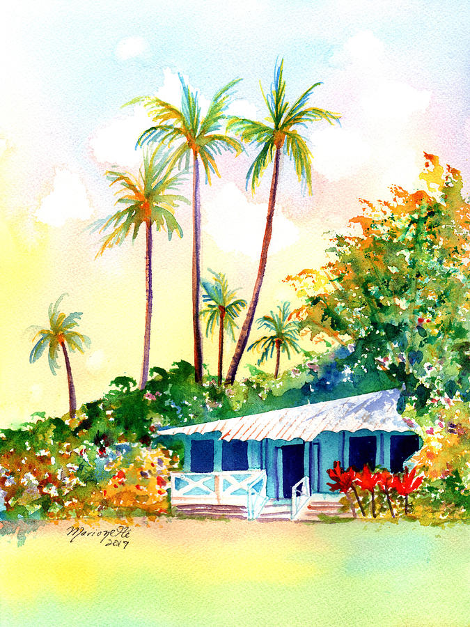 Hawaiian Vacation Cottage by Marionette Taboniar