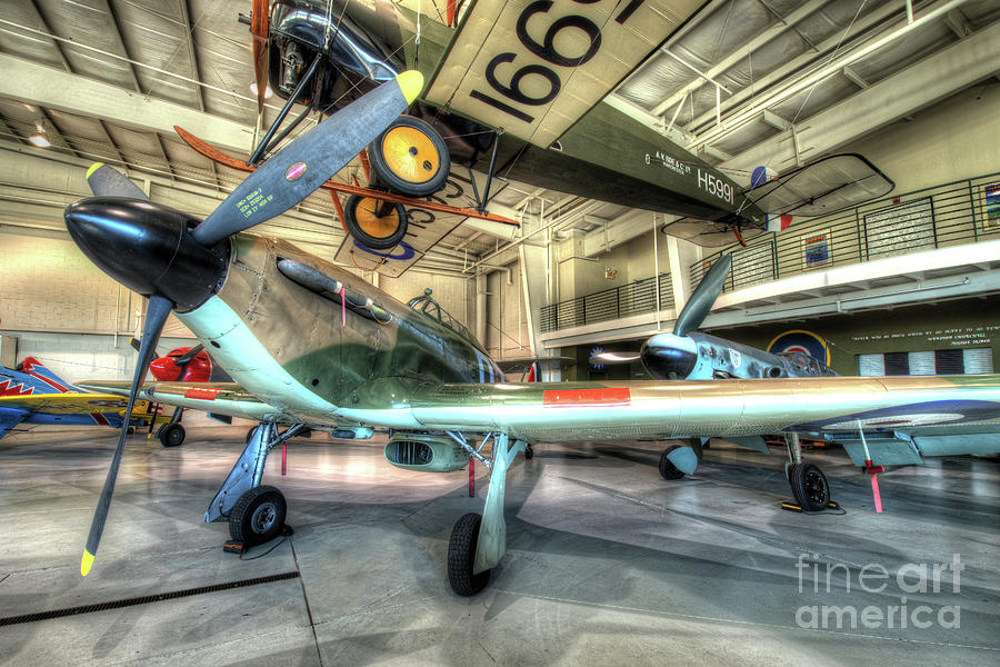 Aviation Photograph - Hawker Hurricane by Greg Hager