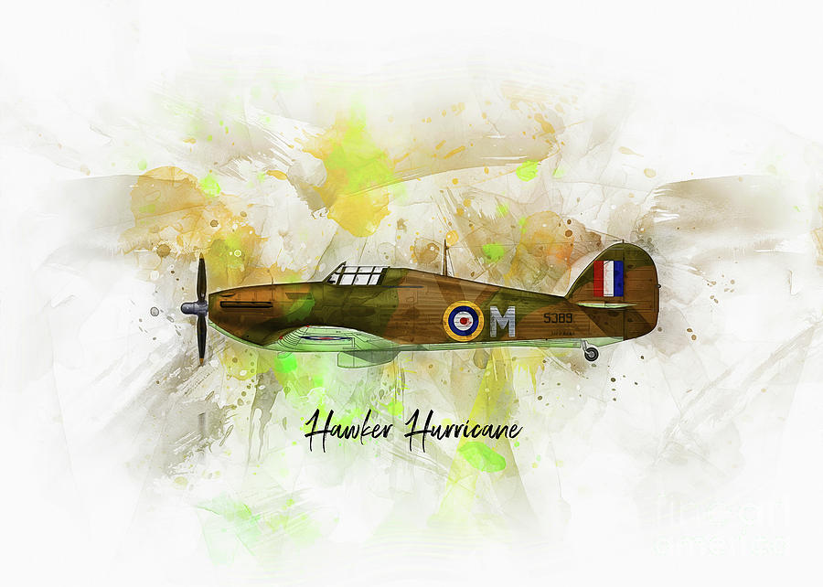 Hawker Hurricane by Ian Mitchell