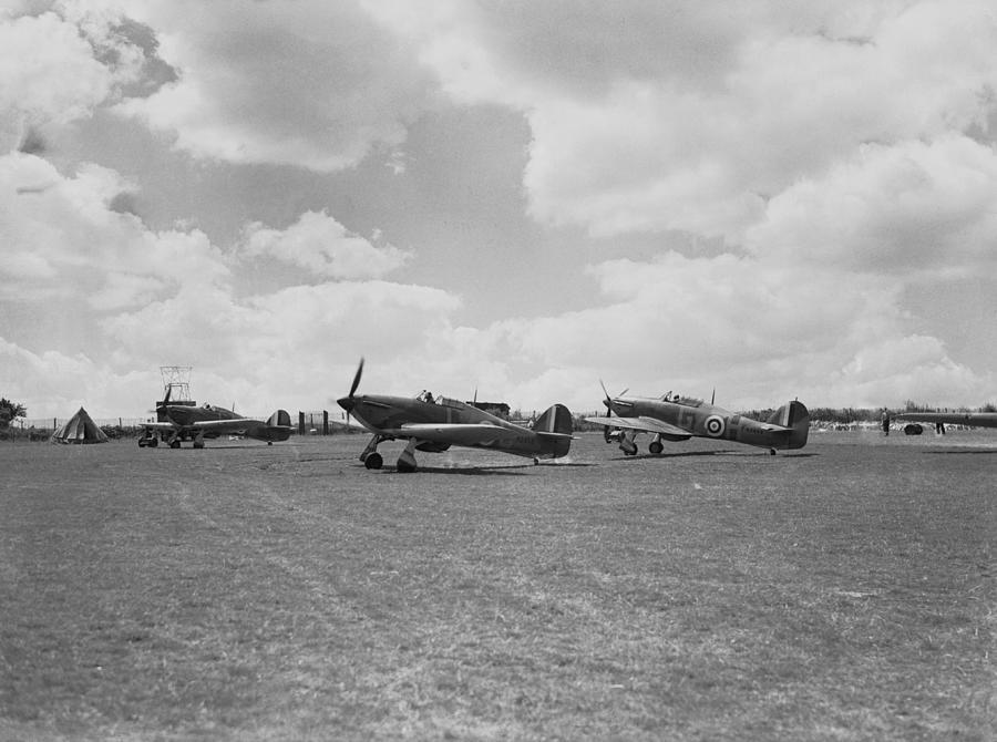Hawker Hurricanes Photograph by Fox Photos