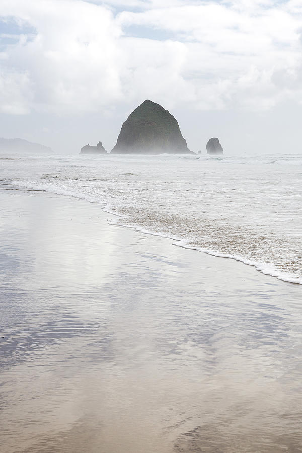 Haystack Rock by Tim Newton