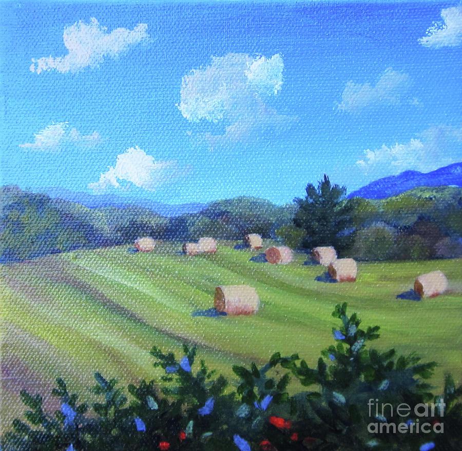 Haystacks by Anne Marie Brown