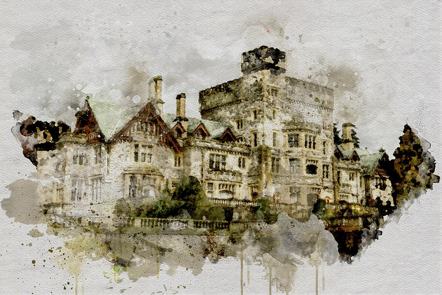 Hatley Castle 2 by Marilyn Wilson