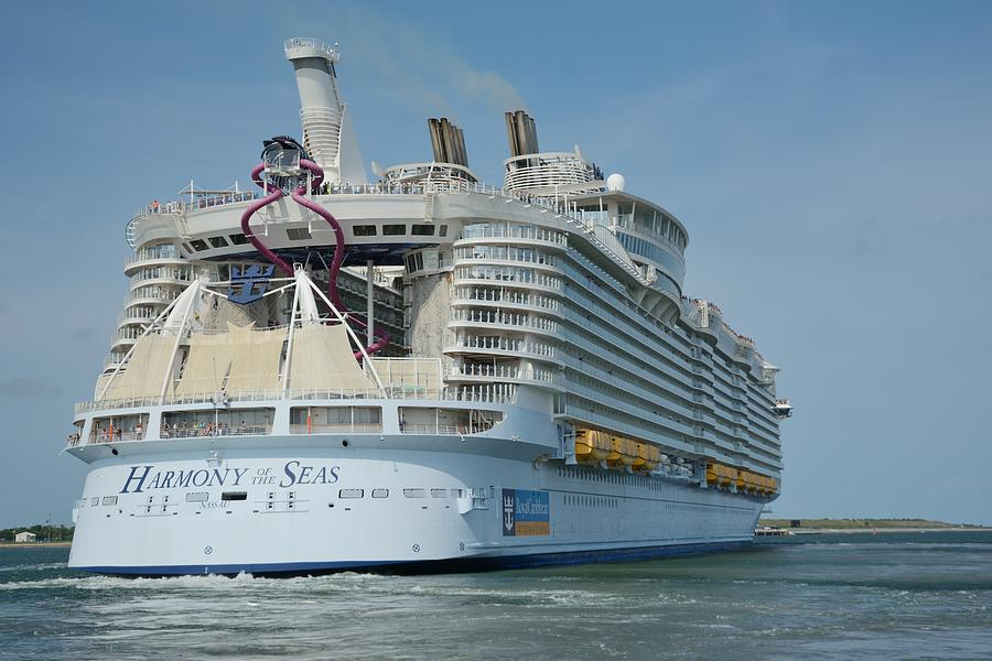 The Harmony of the Seas Underway by Bradford Martin