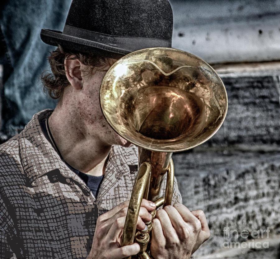 Music Photograph - Head Embouchure  by Steven Digman