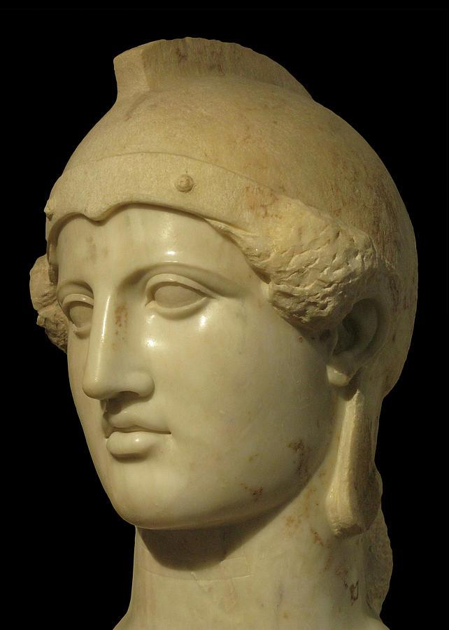 Head of Athena by Doug Matthews