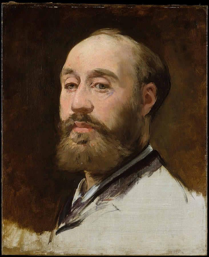Edouard Manet Painting - Head Of Jean Baptiste Faure        by Edouard Manet