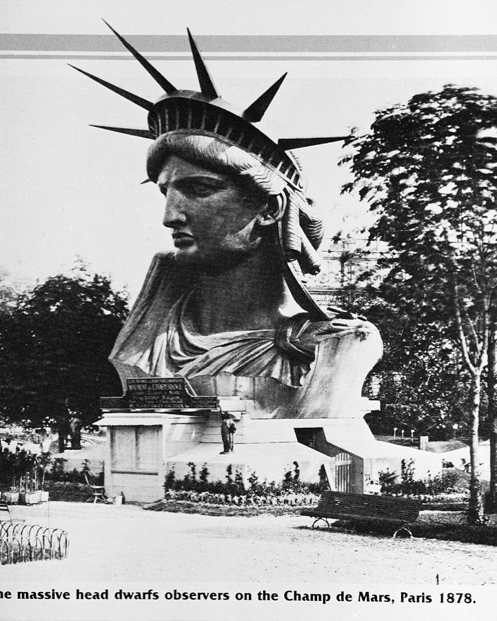 Head Of Statue Of Liberty In France Photograph by Hulton Archive