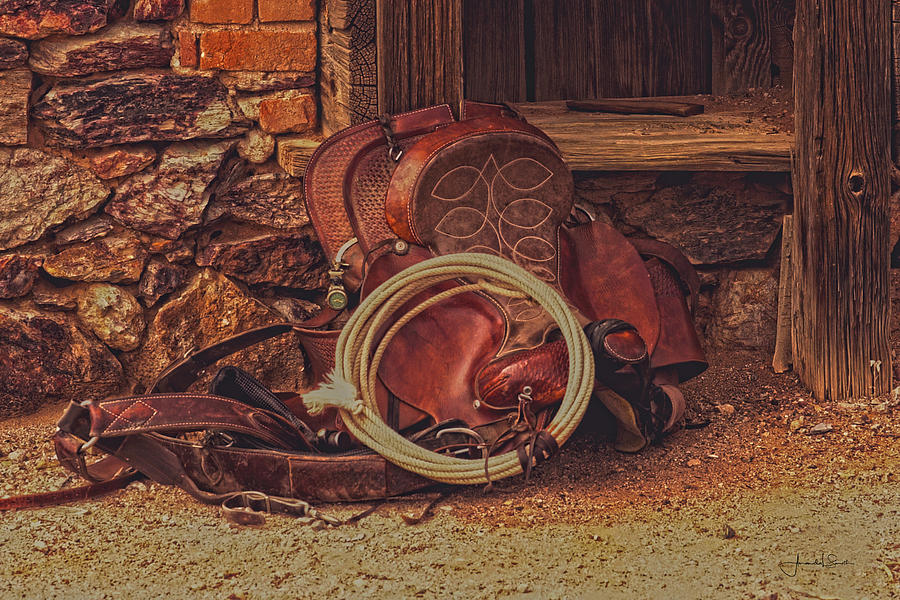 Head Wrangler's Saddle by Amanda Smith