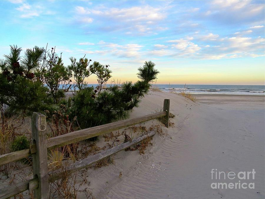 Headed to the Beach in Sea Isle  by Nancy Patterson