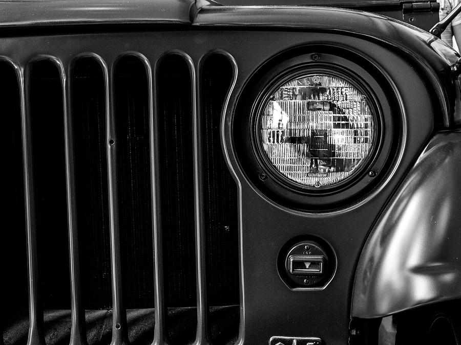 Headlight, Jeep by Edward Lee