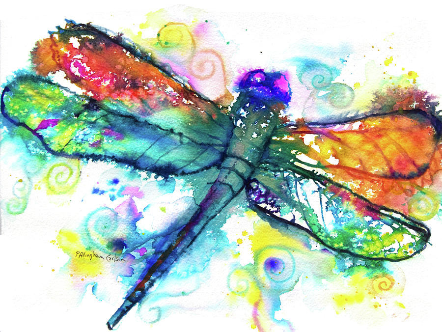 Healing Dragonfly by Patricia Allingham Carlson