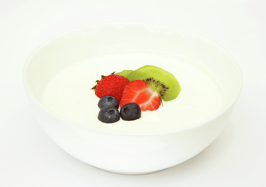 Healthy Breakfast, Snack Or Dessert Photograph by Rosemary Calvert