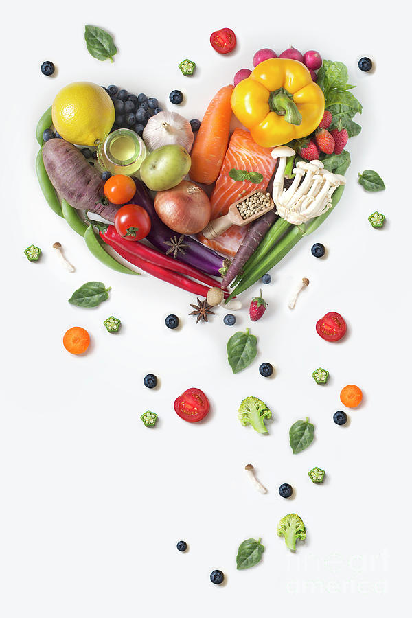 Healthy Eating Vegan Food Concept Image Photograph by Twomeows