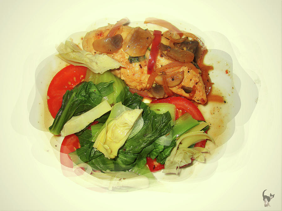 Healthy Low Calorie Chicken Meal by Joyce Dickens