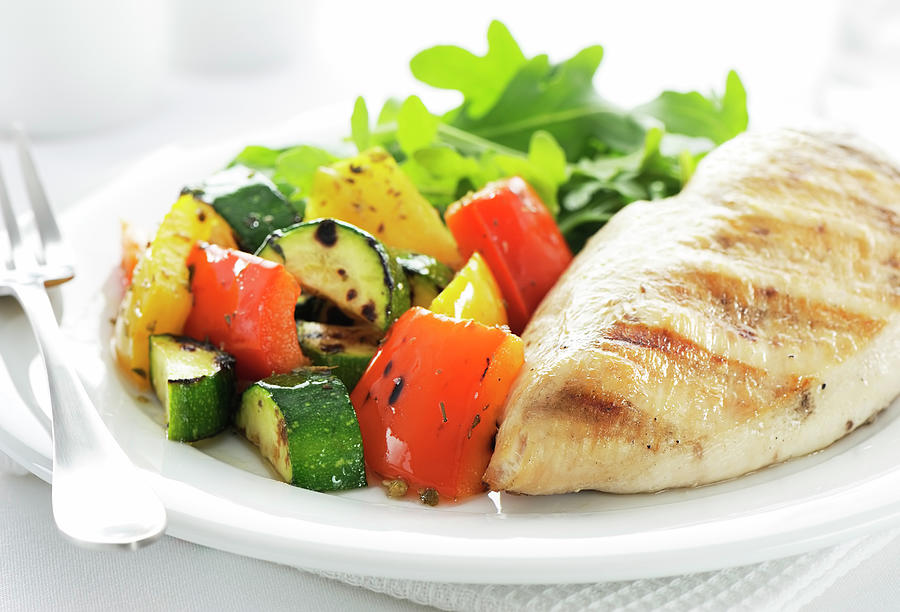Healthy Meal Photograph by Easybuy4u