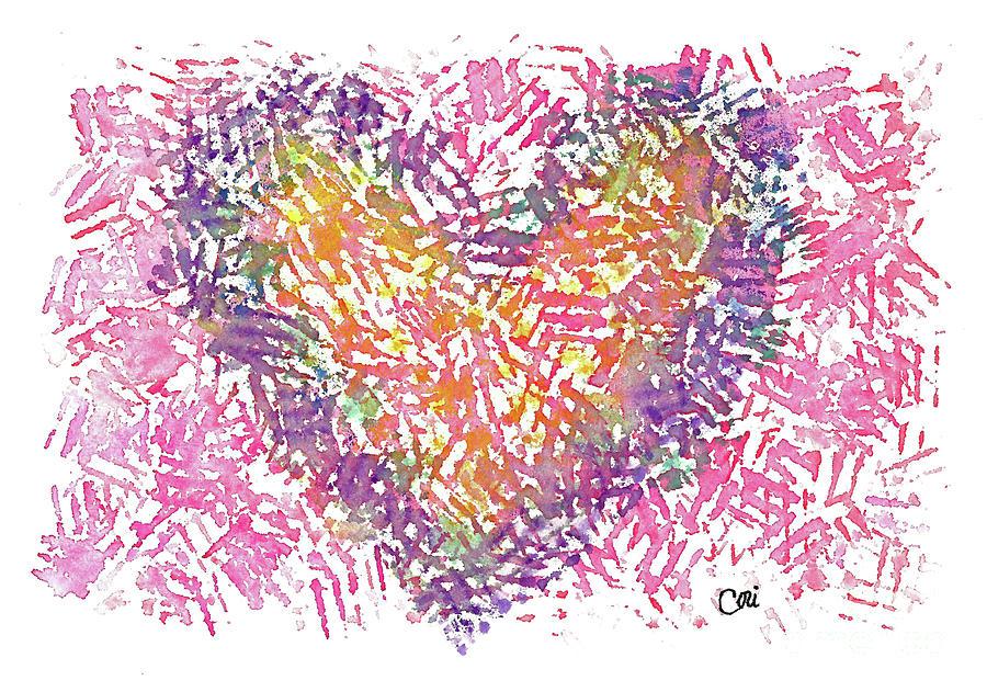 Heart 1006 by Corinne Carroll