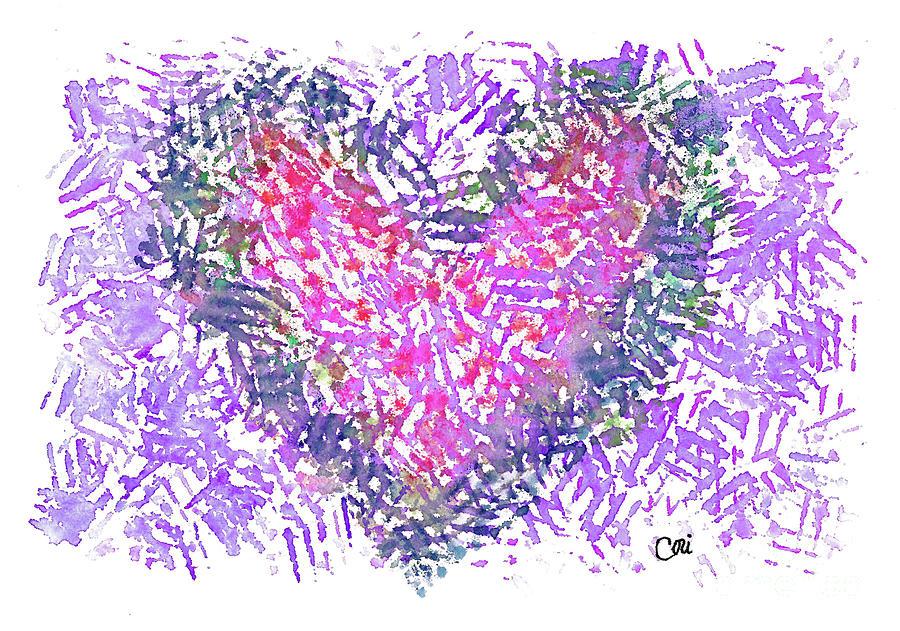 Heart 1007 by Corinne Carroll