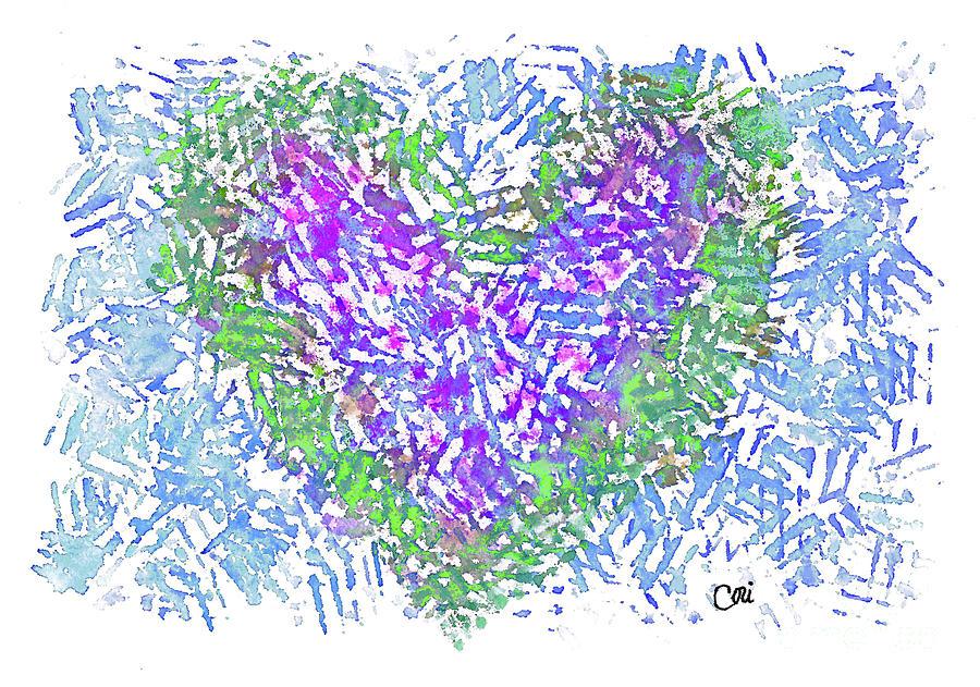 Heart 1008 by Corinne Carroll