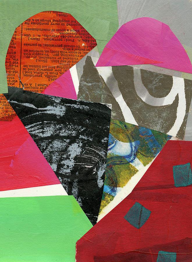 Pattern Painting - Heart #43 by Jane Davies