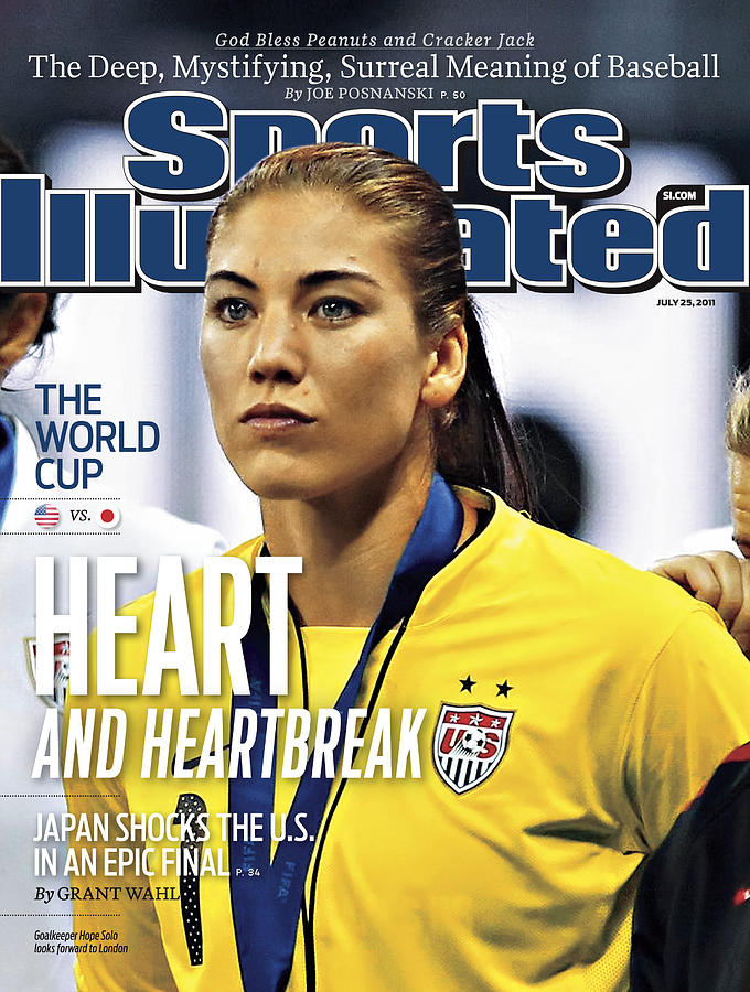 Heart And Heartbreak Japan Shocks The U.s. In An Epic Final Sports Illustrated Cover Photograph by Sports Illustrated