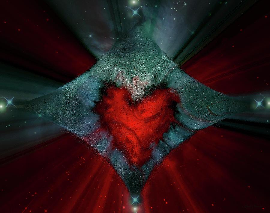Heart And Stars by Linda Sannuti