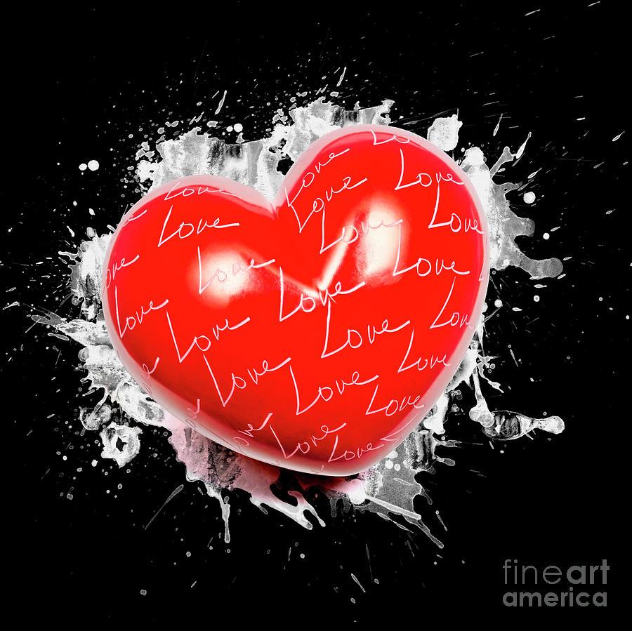 Love Photograph - Heart Art by Jorgo Photography - Wall Art Gallery