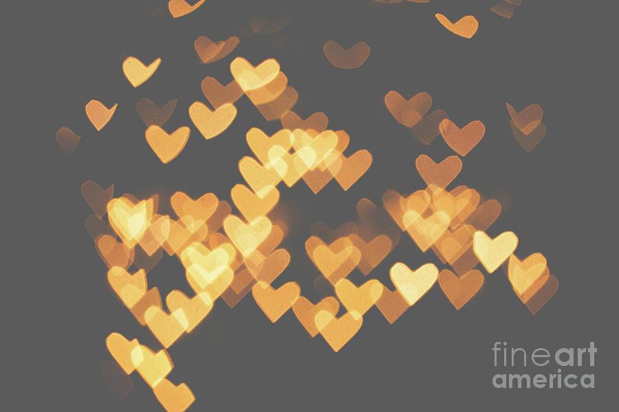 Heart bokeh by Mariusz Talarek