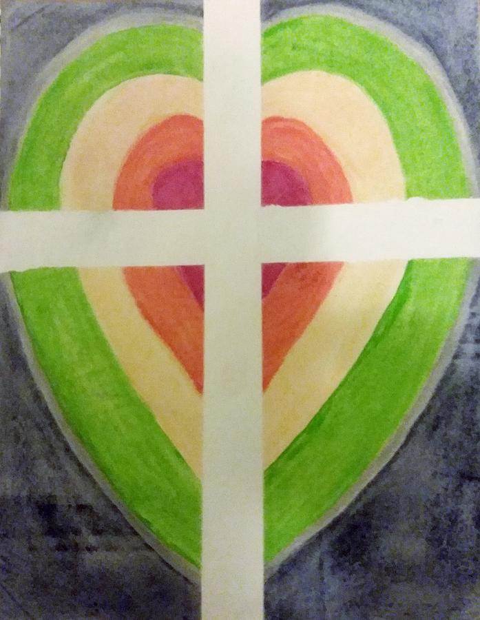 Heart Cross by James Adger