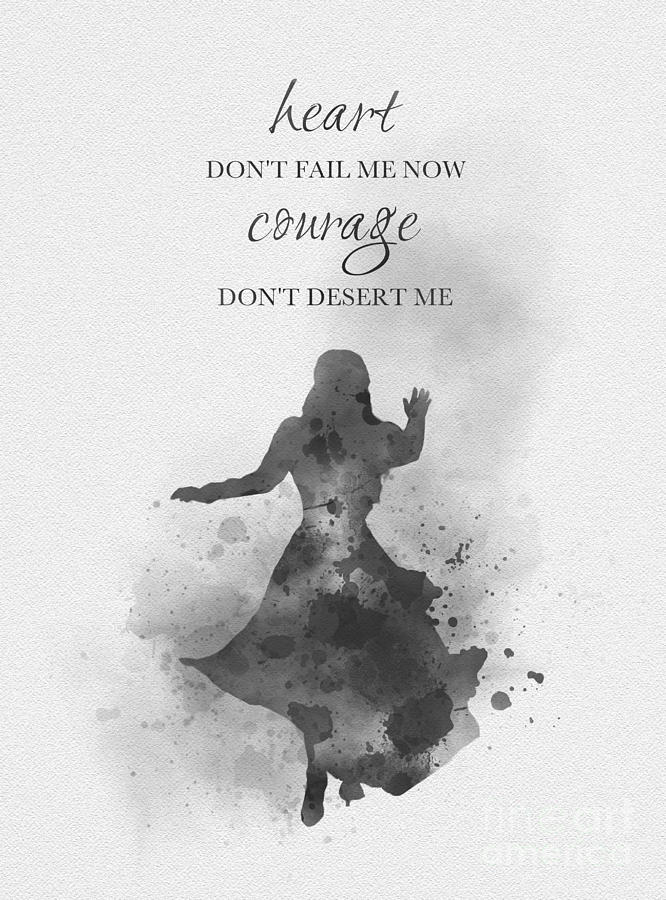 heart don't fail me now black and white by My Inspiration