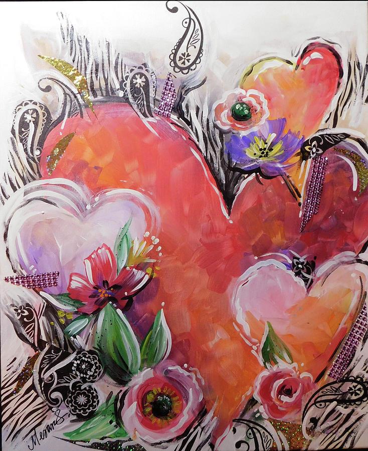 Heart Garden by Karen Mesaros