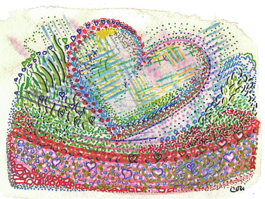 Heart in a Basket by Corinne Carroll